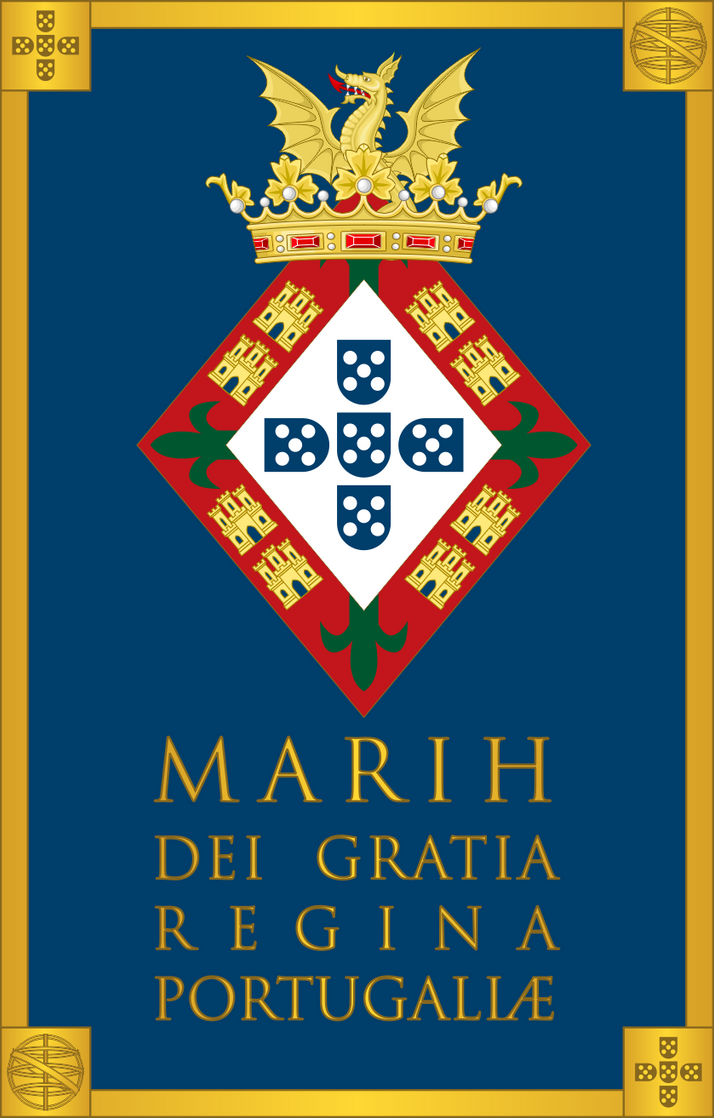 Marih Dei Gratia Regina Portugaliae by SirJohnRafael