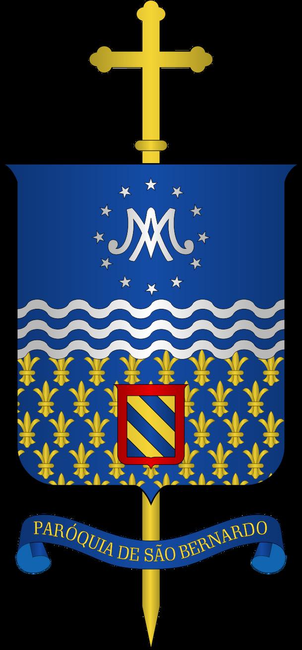 Arms of St. Bernard Parish by SirJohnRafael