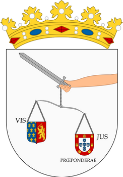 Arms of Sao Luis, Brazil (Colonial)