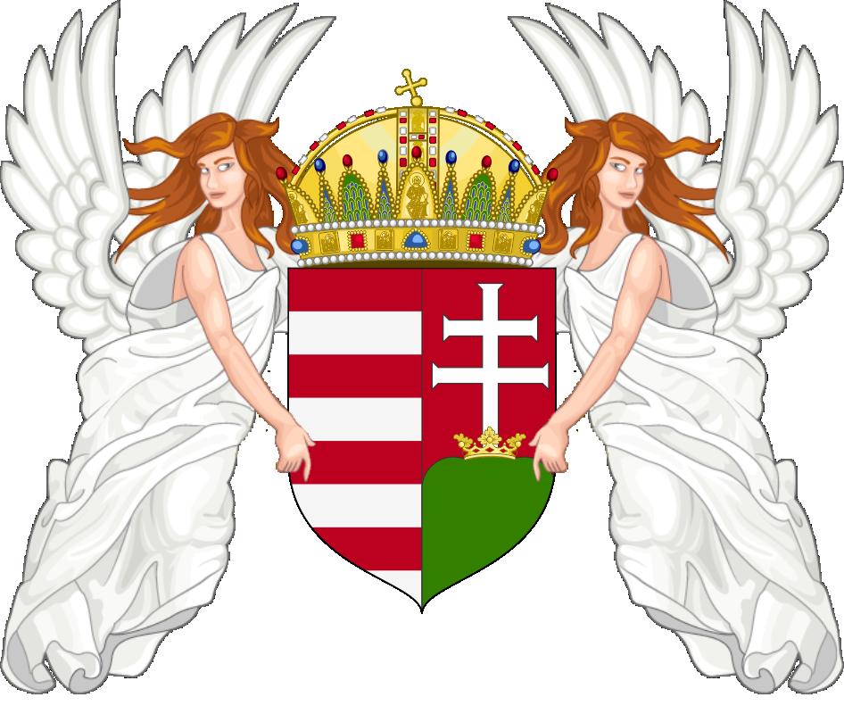 Arms of Hungary by SirJohnRafael