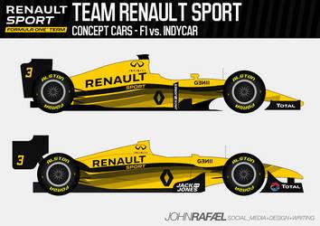 Team Renault Sport by SirJohnRafael