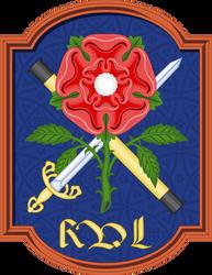 A badge in a cartouche by SirJohnRafael