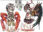 Tokyo Ghoul Chibi Set #1
