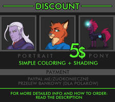 COMMISSION DISCOUNT (CLOSED) !!! by Zuo-Konieczne