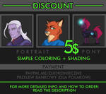 COMMISSION DISCOUNT (CLOSED) !!!