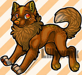 OTA Wolf Adoptable 2 [Closed] by Lillywork