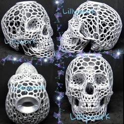 3d printed skull bank