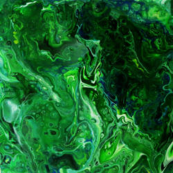 Green Sea Horse