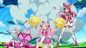 Cure Happy and other two pink cures.