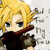 Cloud Strife Icon by FioreNeve