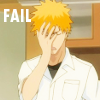 Ichigo Fail Icon by FioreNeve