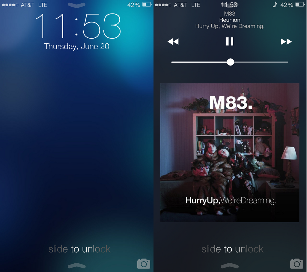 iOS 7 LockScreen and Extras by jacobcaudill