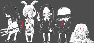 Living Dead Dolls SERIES1 originals