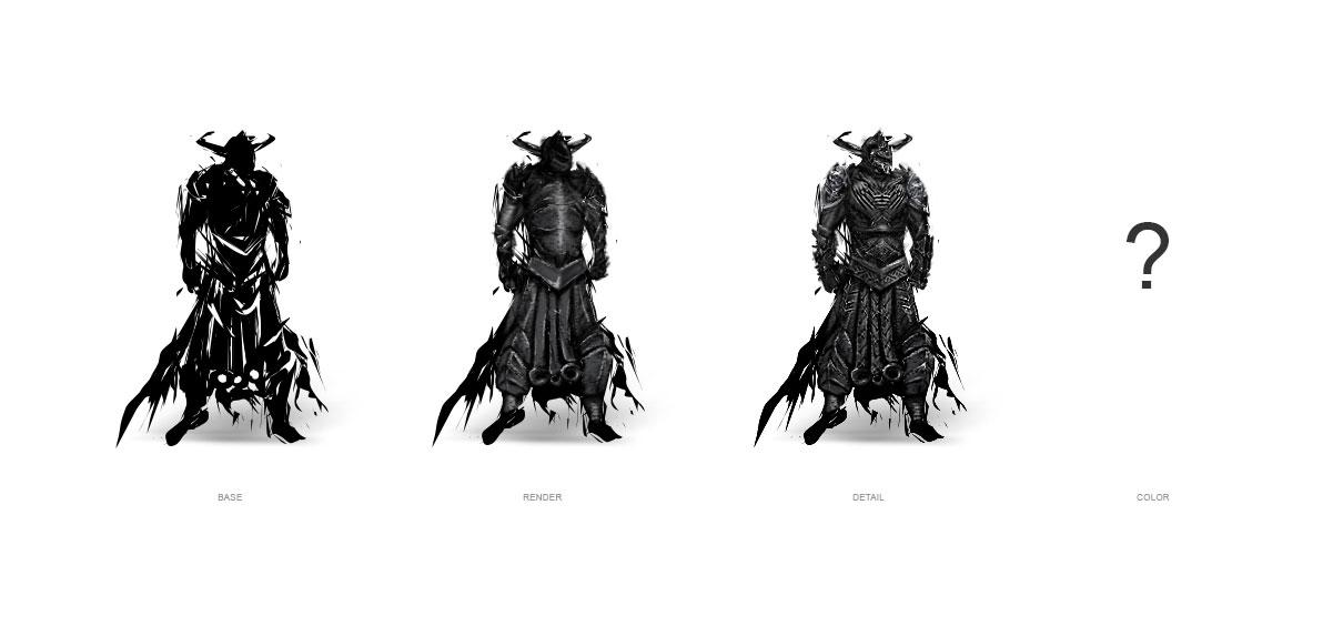 concept art: random warrior by Node01