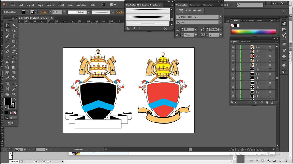 Coat of Arms by fishpogs