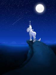 The Last Unicorn by Hellbeholder