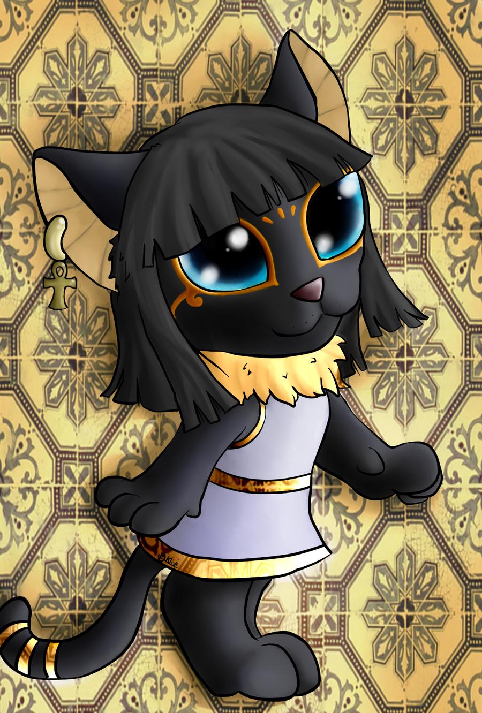 Black Cat Egyptian God