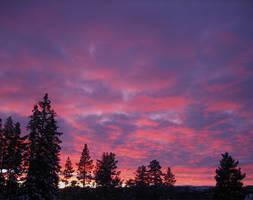 Norwegian Sunrise by CloudCastsShadow