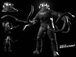 Monster Astronaut by KruddMan