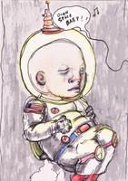 Baby Astronaut by KruddMan