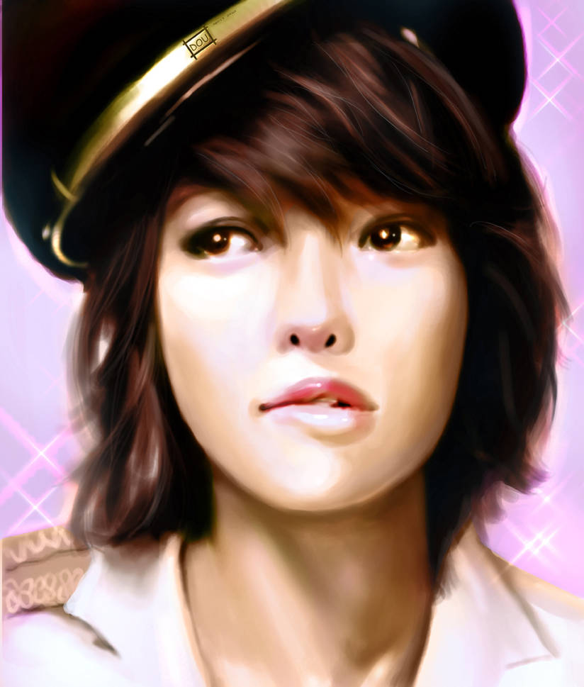 soo young snsd painting