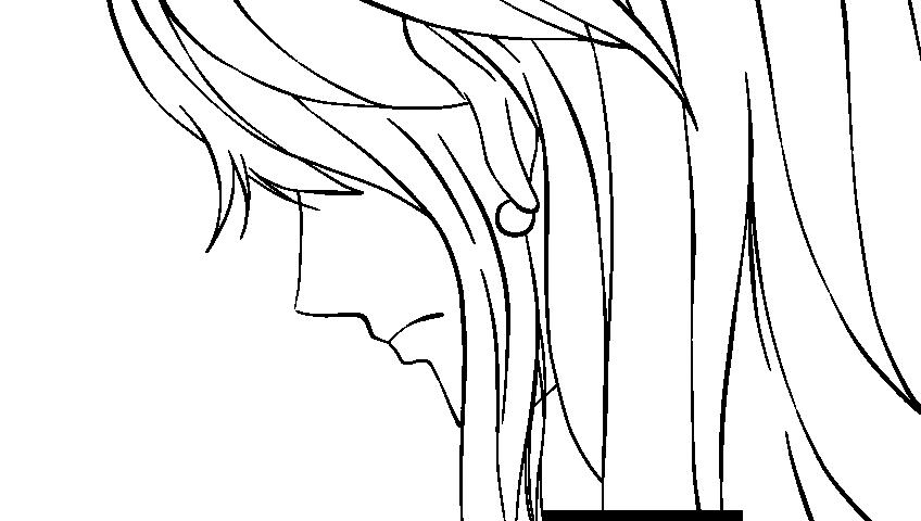 Nami Lineart : Nami sad lineart by opf e n on deviantart