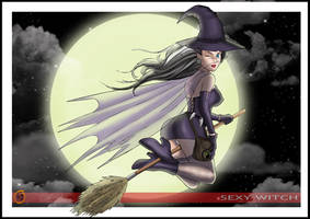 SEXY WITCH by HD-2