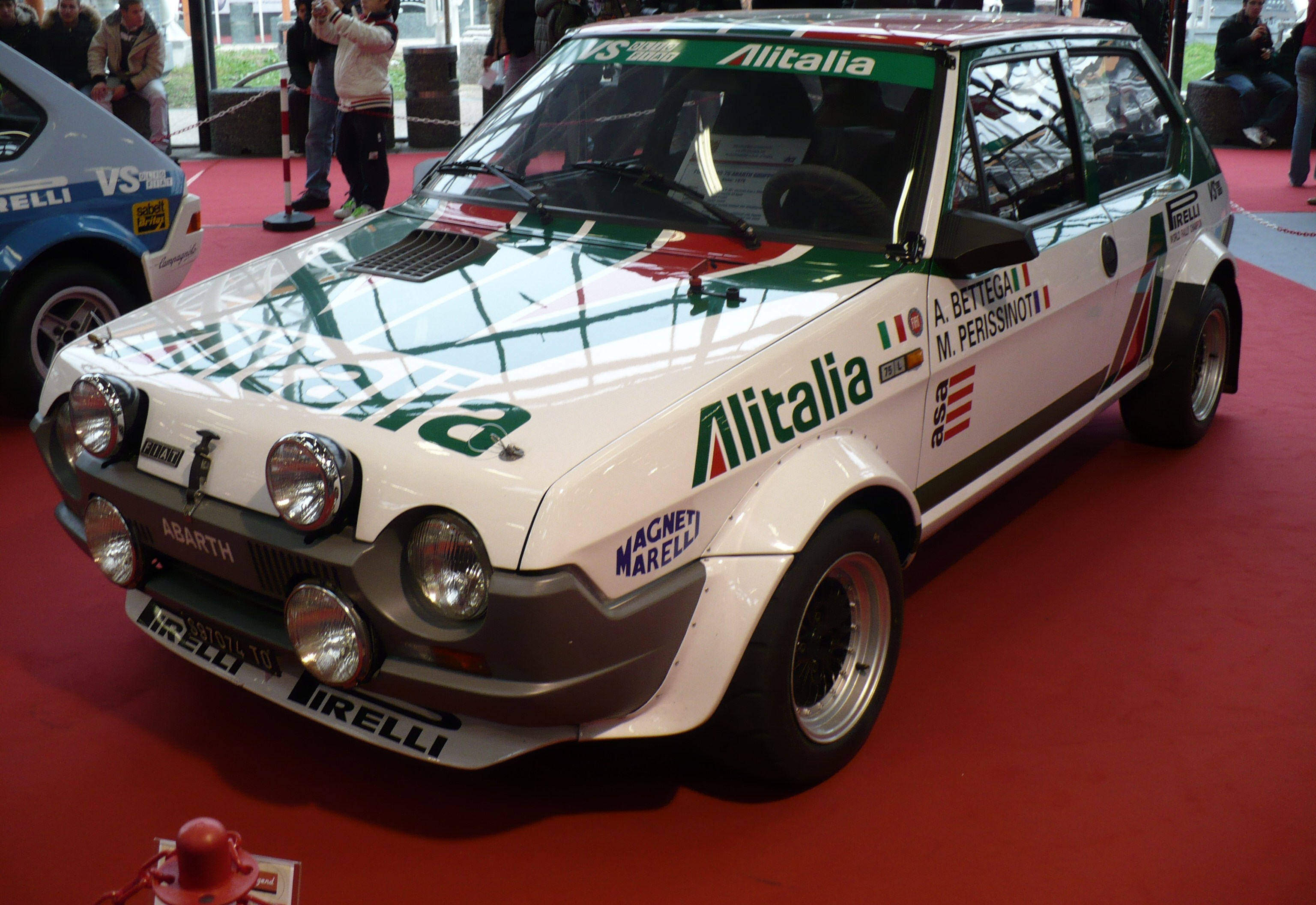 Fiat Ritmo Abarth Rally By Davi80 On Deviantart