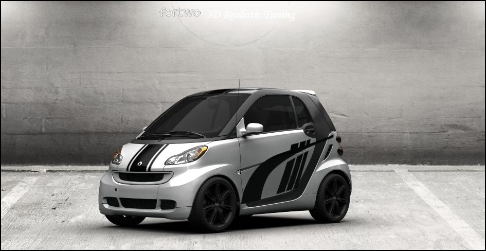 Smart Fortwo 1 3d Tuning By Davi80 On Deviantart