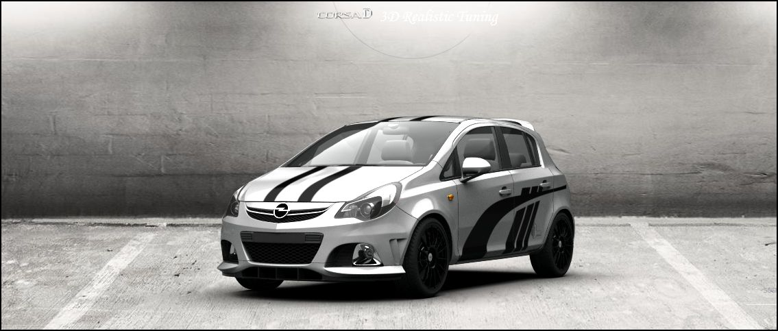 opel corsa d 1 3d tuning by davi80 on deviantart. Black Bedroom Furniture Sets. Home Design Ideas