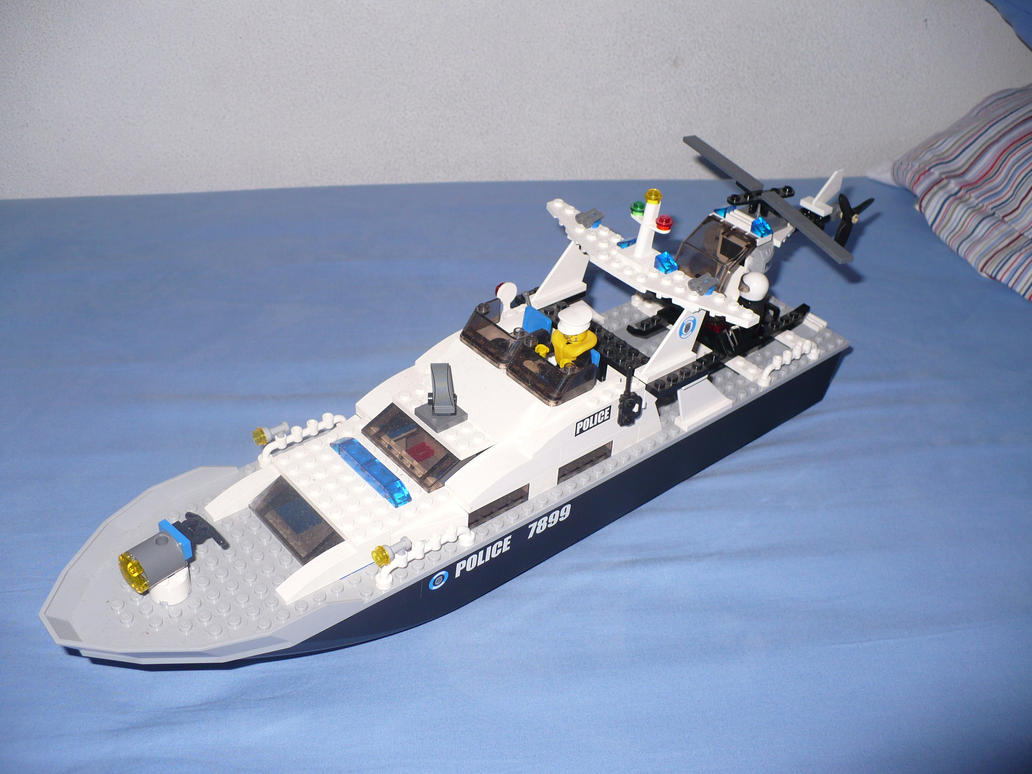 LEGO Ship Police by Davi80