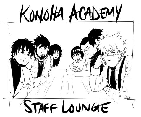 Konoha Academy Teachers by LegendarySwordsman