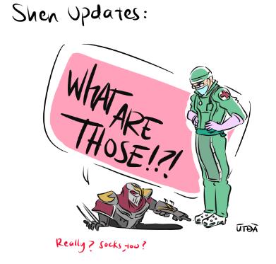 Shen Updates by LegendarySwordsman