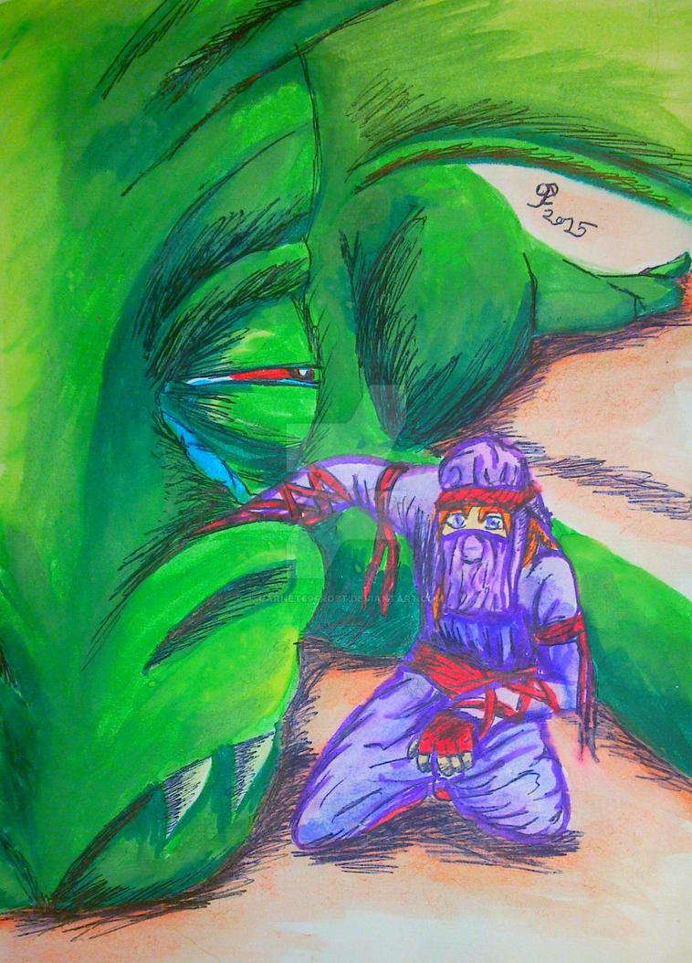 The Monster Slayer: Indi's Childhood Dream by garnet69frost