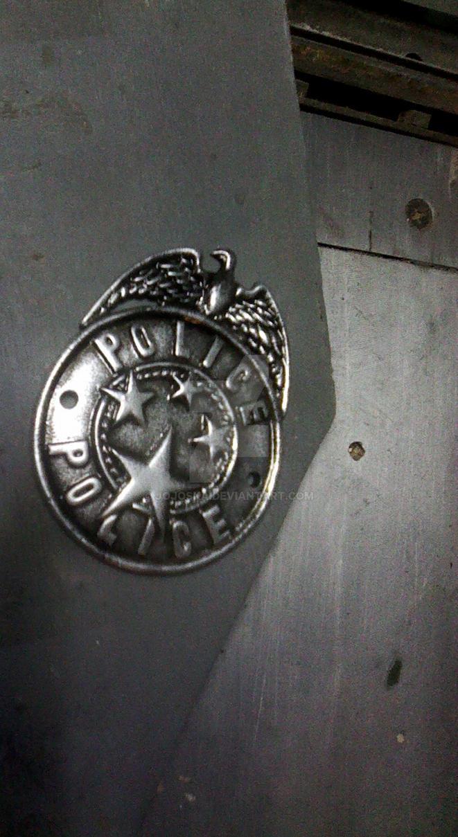 The Evil Within police badge by Jojoska