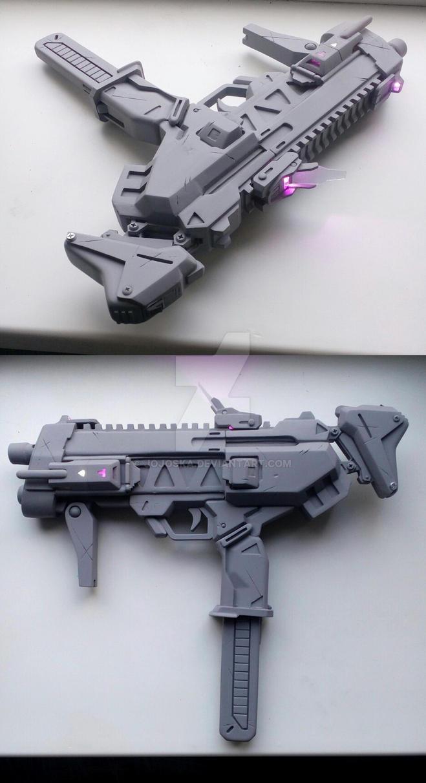 Overwatch Sombra gun by Jojoska