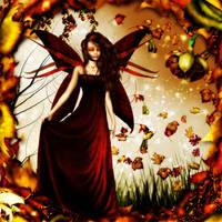 Fall Fairy 02 by Chris10