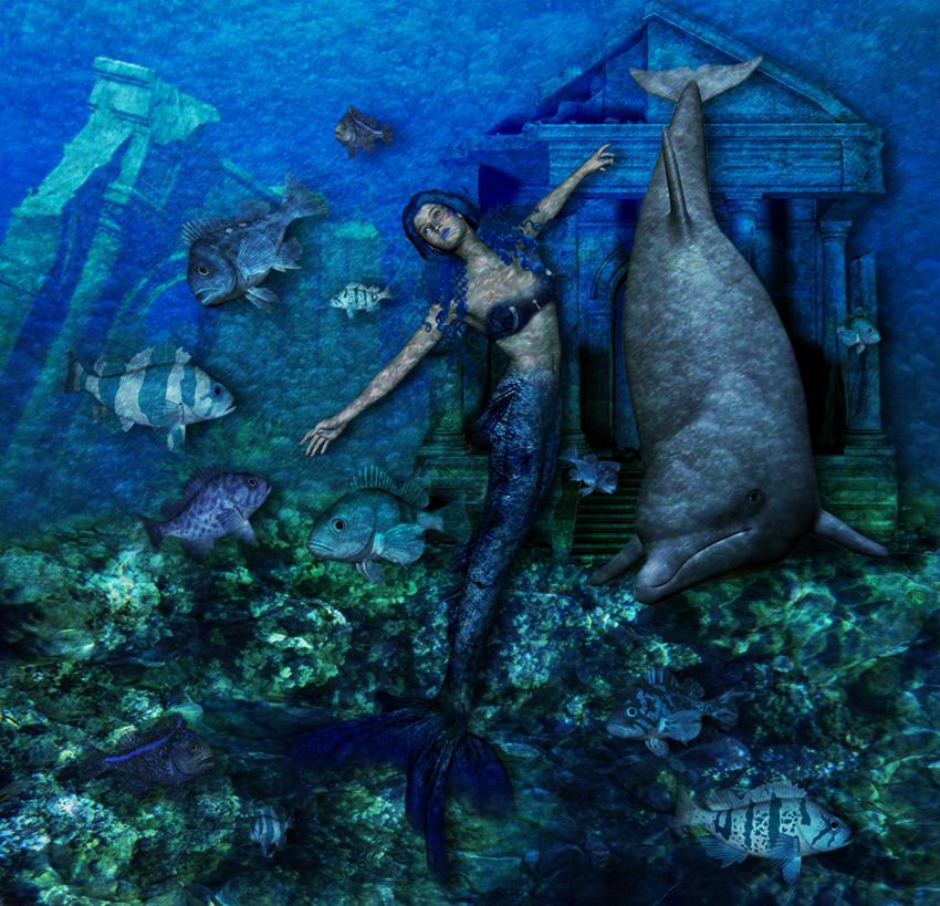 Mermaid Dreams by Chris10