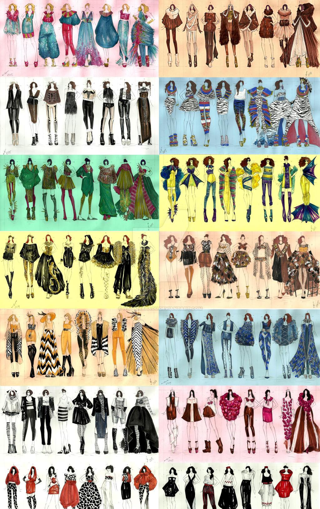Animal fashion wild design by nataliabagu on deviantart for Wild design
