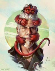 Hellboy by machinehead666