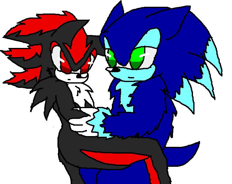 Shadow X Sonic Mpreg Werehog x Demon...