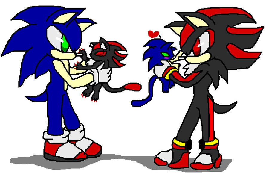 Showing Gallery For Sonic And Shadow Love Clipart - Free Clip Art ...