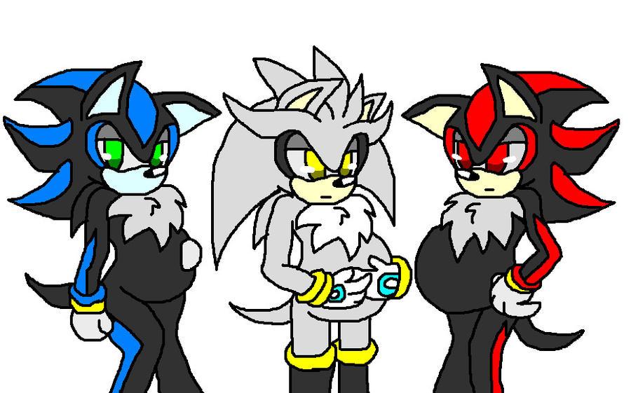 Shadow X Sonic Mpreg Mephiles mpreg silver mpreg