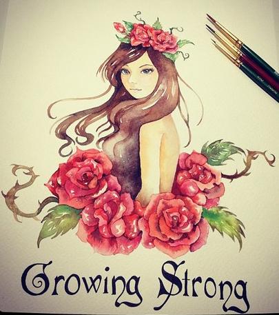 Growing Strong by luanadorea
