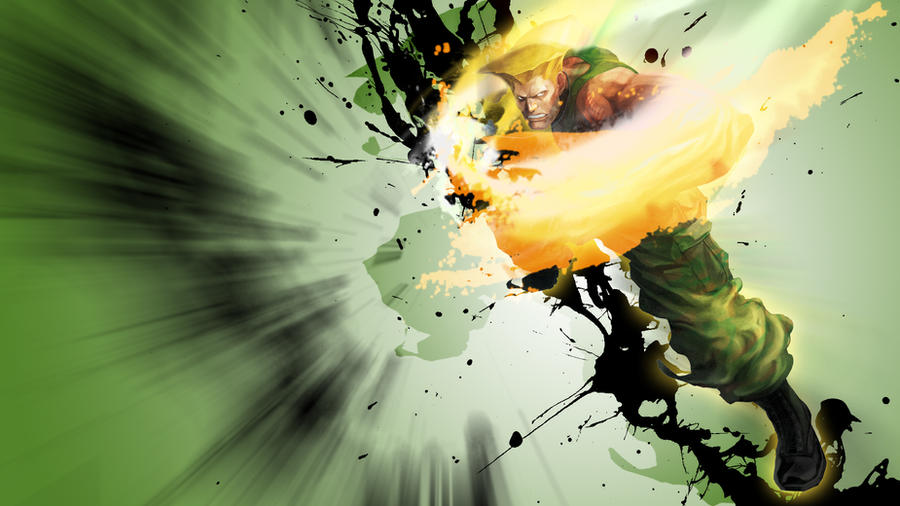 Guile - SFxTK HD Wallpaper by soulfenrir