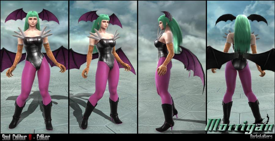 Soul Calibur V - Editor - Morrigan by soulfenrir