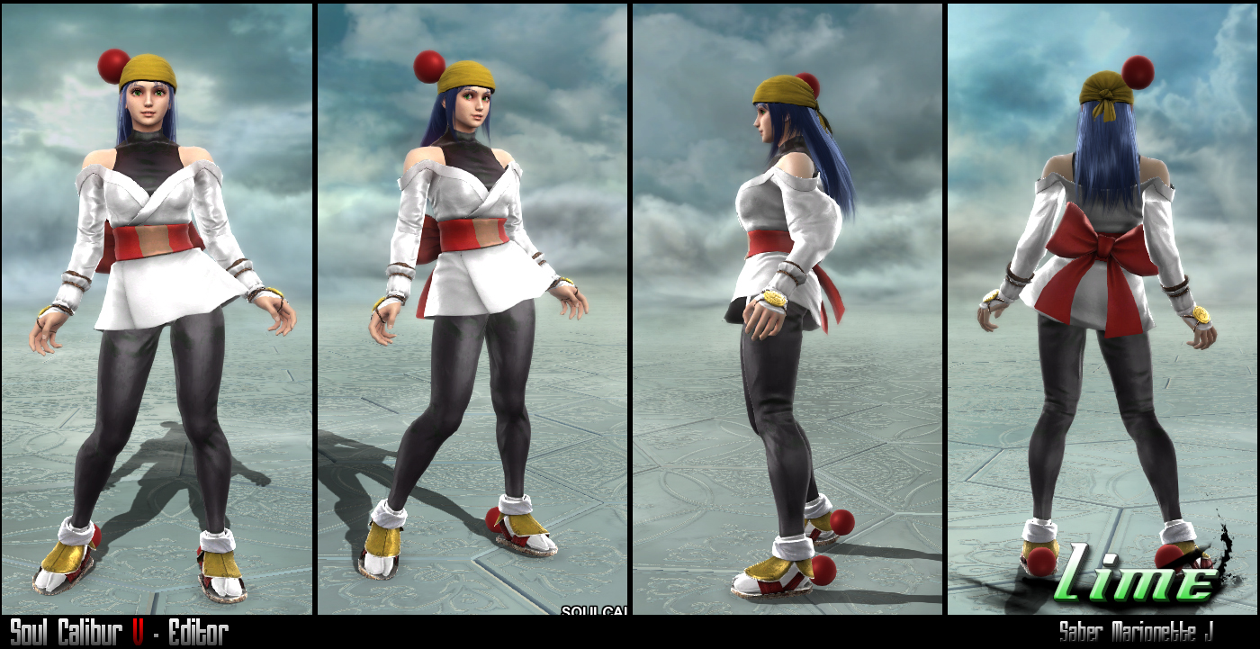 Soul Calibur V Anime Characters : Soul calibur v editor lime smj by soulfenrir on