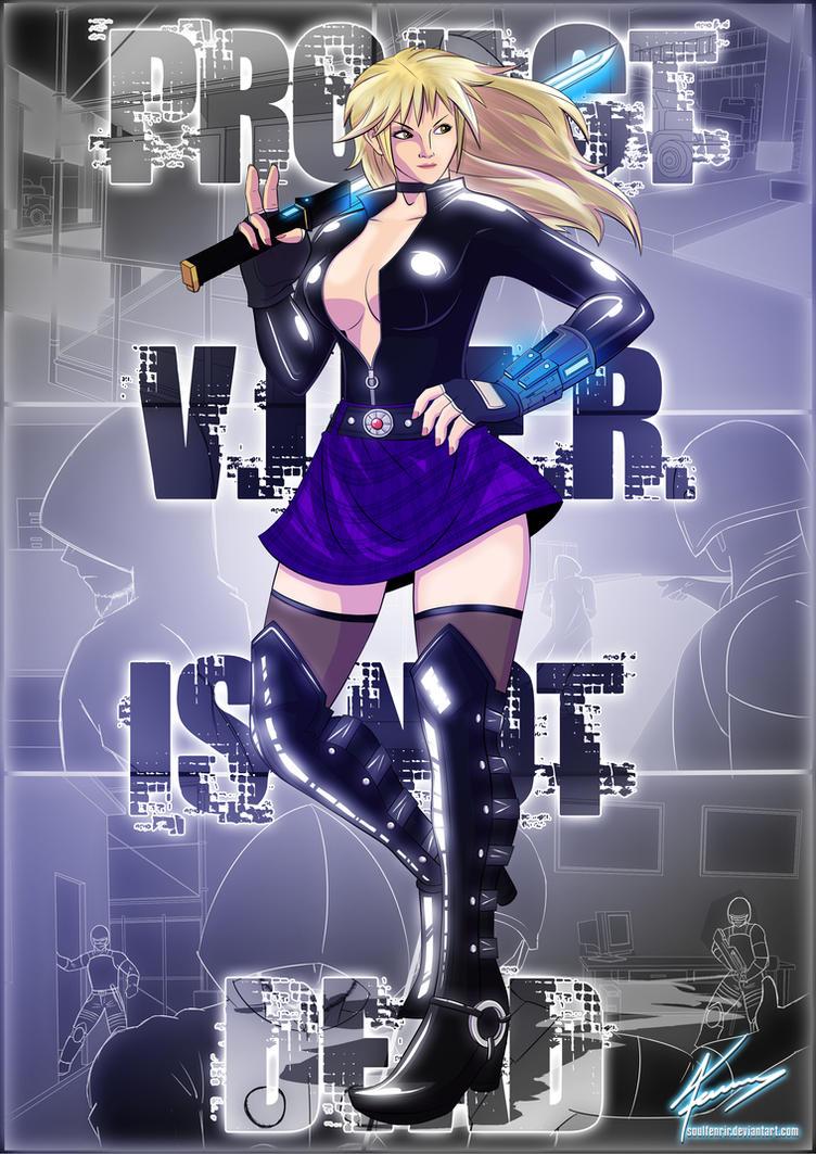 Purple Viper - Project 'V.I.P.E.R.' Concept by soulfenrir