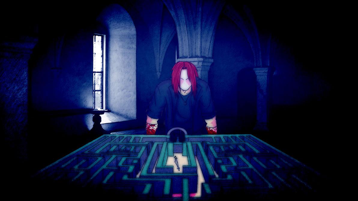 NEVER AGAIN - Press Scar To Play - Dismal Maze by soulfenrir