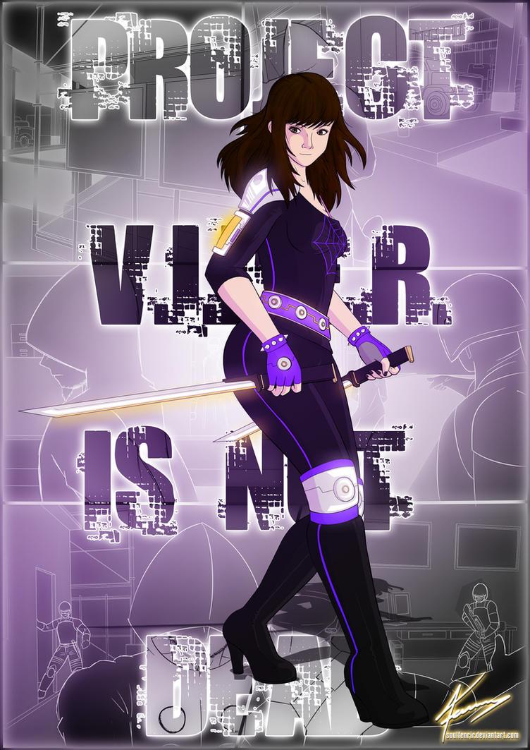 Violet Viper - Project 'V.I.P.E.R.' Concept by soulfenrir